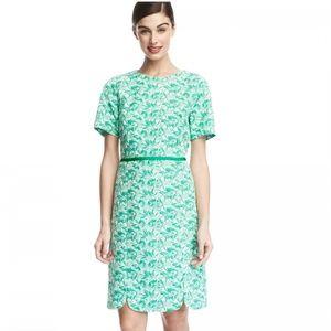 NWT Draper James Greenhill blossom jacquard dress